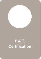 P.A.T. Certification