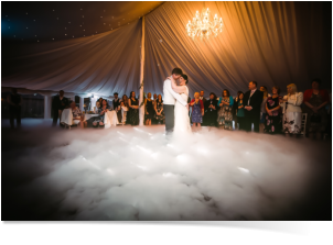 stunning special effects for weddings