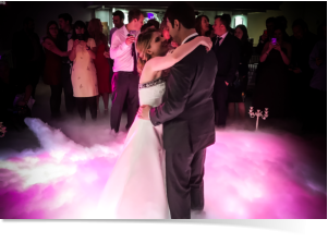 clouds effects for first dance