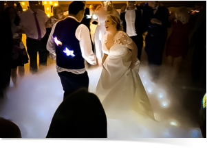 dry ice special effect for weddings