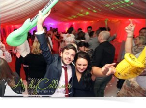 fun swindon wedding