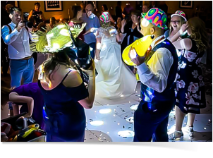 fun weddings Cotswolds